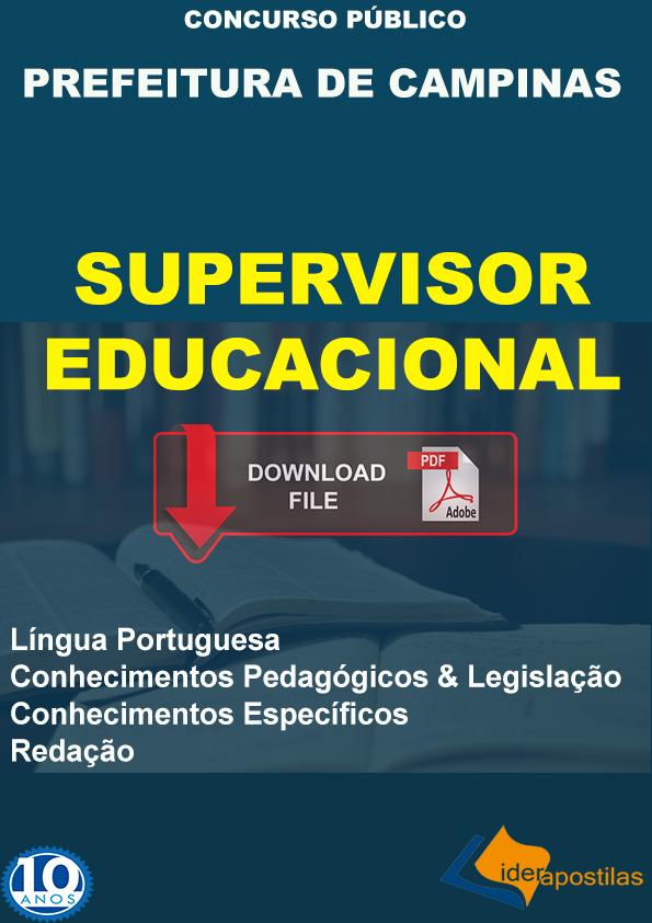 Apostila Supervisor Campinas
