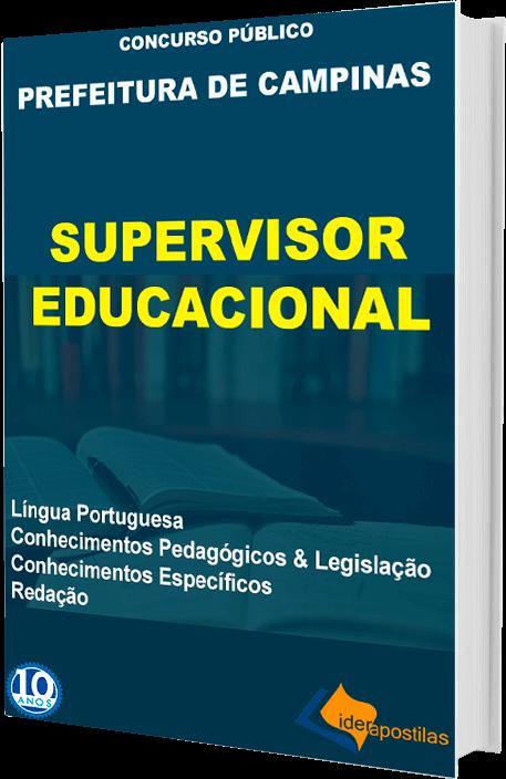 Apostila Supervisor Educacional Campinas