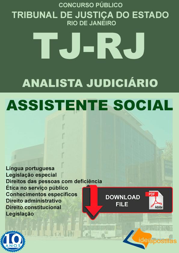 Apostila Assistente Social TJ RJ