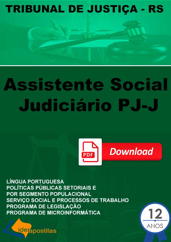 Assistente Social Judiciário PJ-J