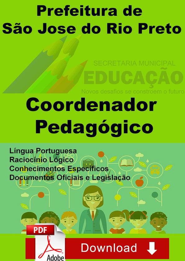 Concurso Coordenador Pedagógico S Jose Rio Preto