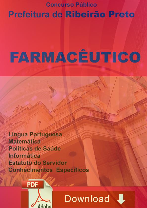 Farmacêutico Ribeirão Preto Concurso