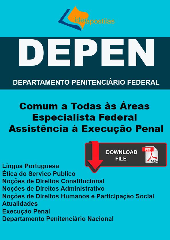 Apostila DEPEN Conhecimentos Básicos Nível Superior.PDF