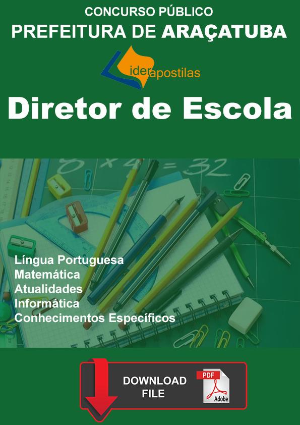 Apostila Diretor Escola Araçatuba