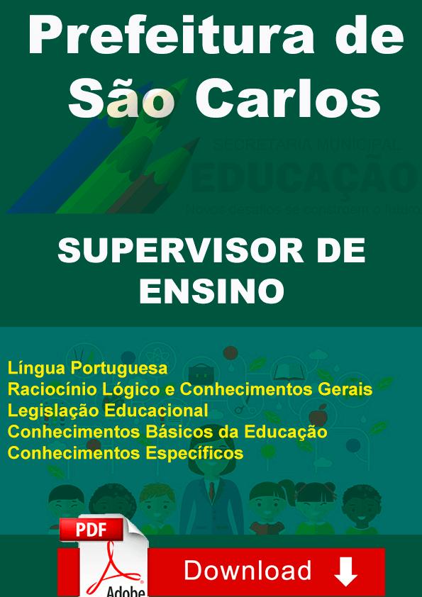 Supervisor Ensino São Carlos