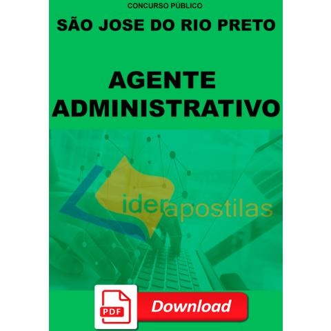Apostila Agente Administrativo S Jose Rio Preto DIGITAL