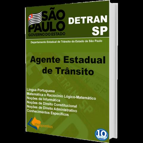Apostila Agente Estadual Trânsito DETRAN SP 2019