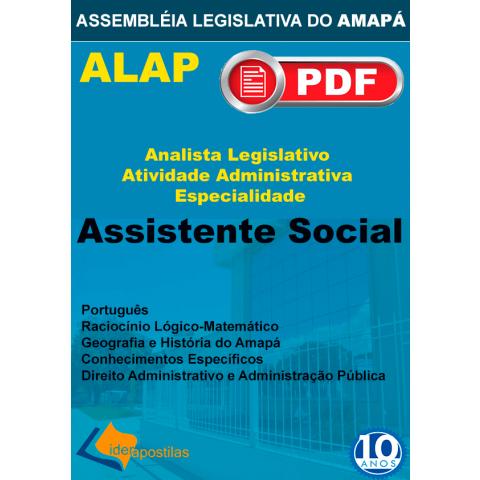 Apostila Analista Legislativo Assistente Social - ALAP