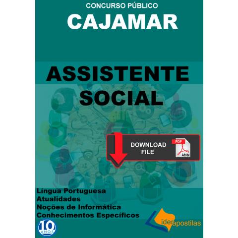 Apostila Assistente Social Prefeitura Cajamar - PDF
