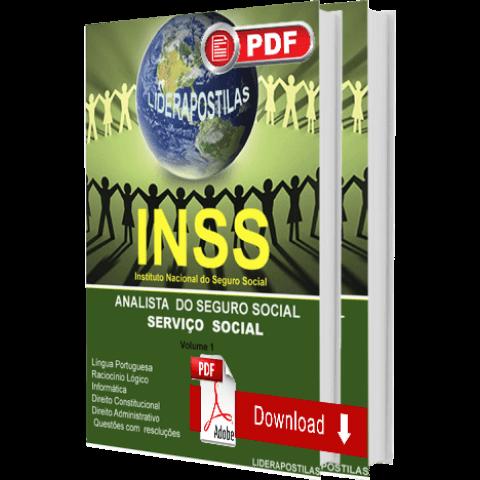 Apostila Assistente Social INSS Digital 2019