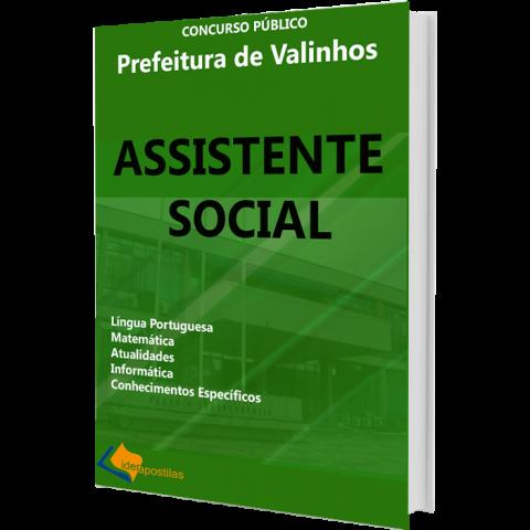 Concurso Assistente Social Valinhos - apostila 2019