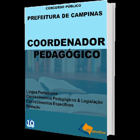 Apostila Coordenador Pedagógico Prefeitura de Campinas