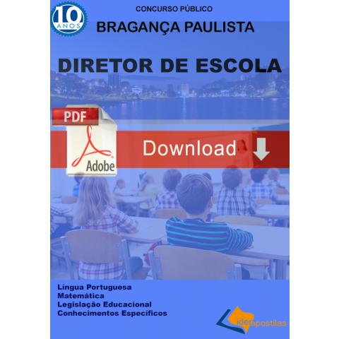 Apostila Diretor de Escola Prefeitura de Bragança Paulista Download