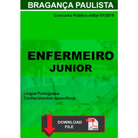 Apostila Concurso Enfermeiro Bragança Paulista DIGITAL