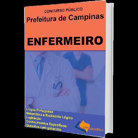 Apostila Enfermeiro  de Campinas - Concurso Prefeitura campinas