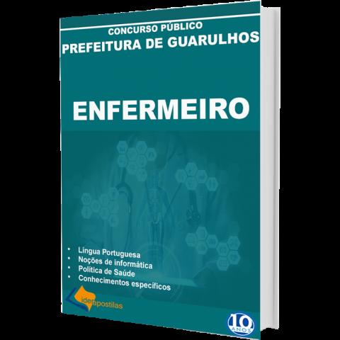 Apostila Concurso Enfermeiro Prefeitura Guarulhos 2019