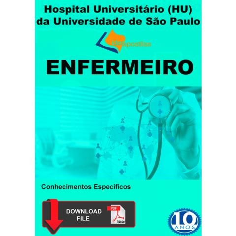 Apostila Enfermeiro Hospital Universitário da USP - Digital