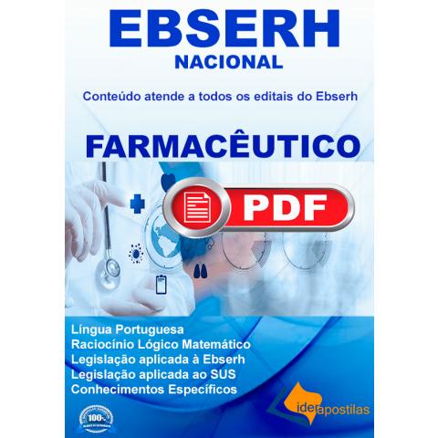 Apostila Farmacêutico Ebserh 2019 Download