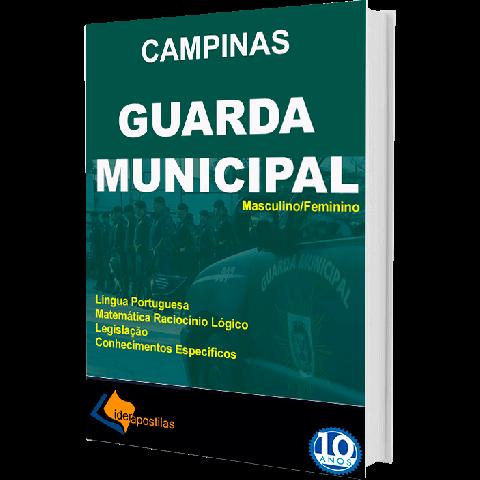 Apostila Guarda Municipal Prefeitura de Campinas