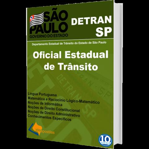 Apostila Oficial Estadual Trânsito Detran SP 2019