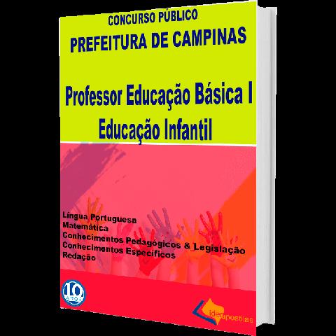 Apostila Peb Professor Educação Básica I e Infantil Campinas