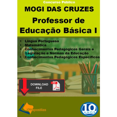 Apostila Professor Educação Básica I PEB I Mogi Cruzes PDF