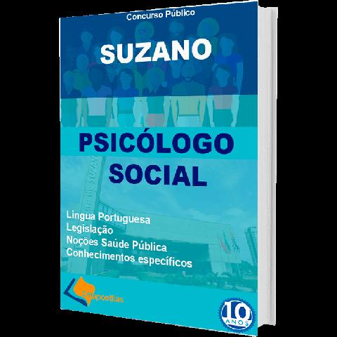 Apostila Psicólogo Social Prefeitura de Suzano - impressa