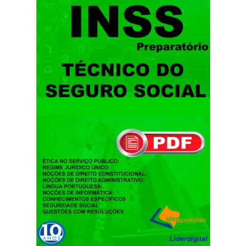 Apostila Técnico do Seguro Social INSS 2019 Download