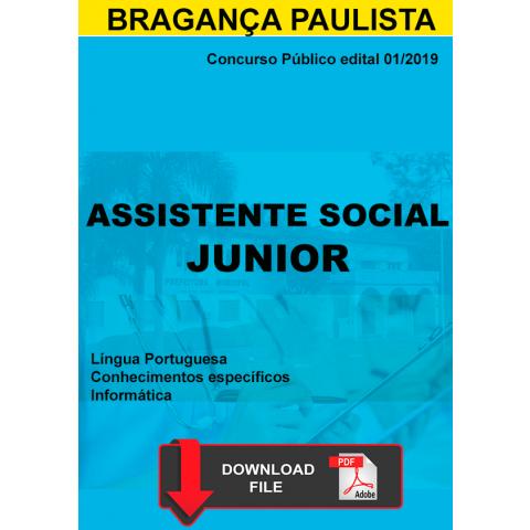 Apostila Assistente social Bragança Paulista Digital