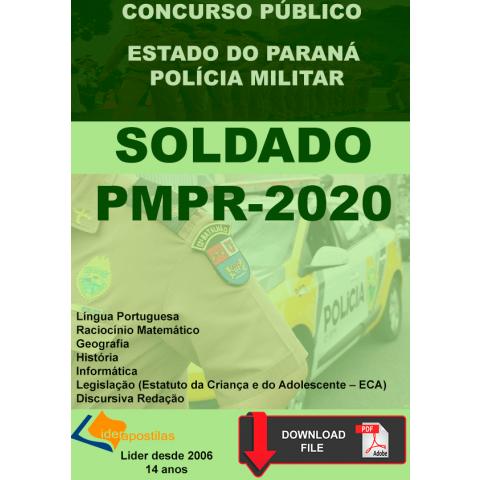 Apostila Concurso Soldado da Polícia Militar do Paraná- PDF