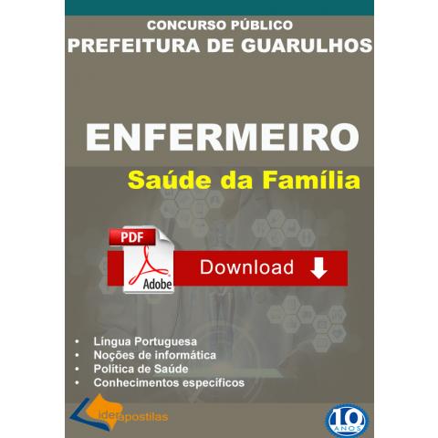 Apostila Enfermeiro Saúde Familia Guarulhos DIGITAL