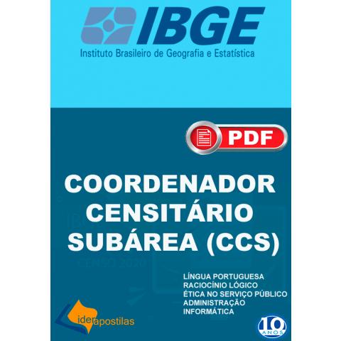 Apostila Coordenador Censitário IBGE