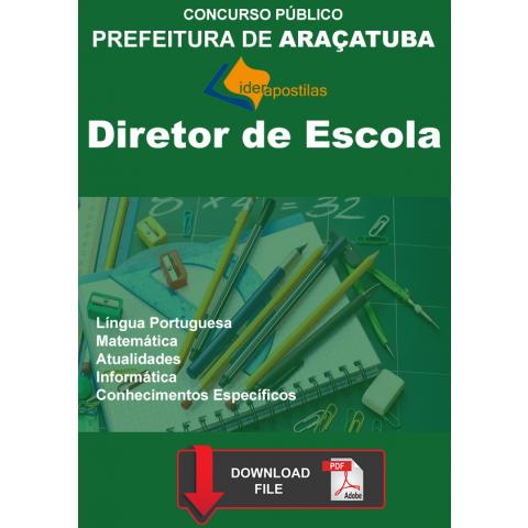 Apostila Diretor Escola Prefeitura Araçatuba Download