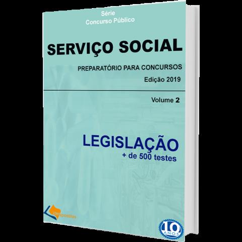 Apostila Serviço Social Concursos Públicos Legislação - Volume 2
