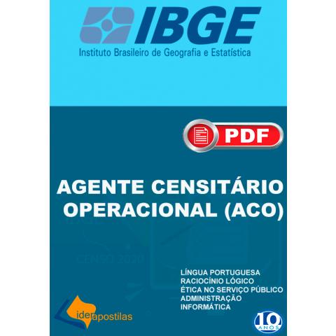 Concurso Agente Censitário IBGE