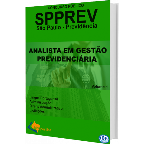 Concurso Analista Gestão SPPREV