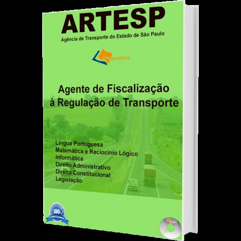 Apostila Agente de Fiscalização à Regulação de Transporte -ARTESP