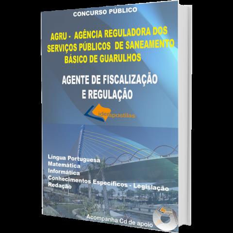 Apostila Agente de Fiscalização e Regulação da Prefeitura de Guarulhos