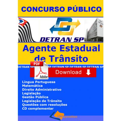 Apostila Agente Estadual de Trânsito Detran SP Download