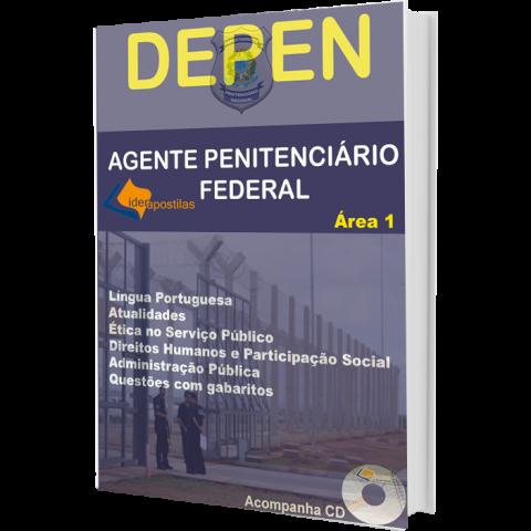 Apostila Agente Penitenciário Federal - Depen - Área 1