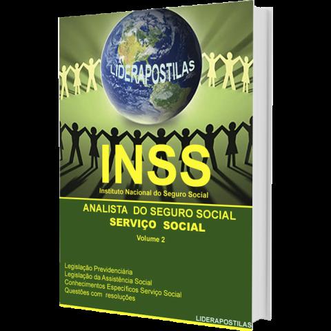 Apostila Analista Seguro Social INSS - especialidade Serviço Social  Volume 2 - 2018
