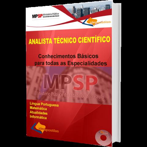 Apostila Analista Técnico Científico - Ministério Público SP. Conhecimentos básicos