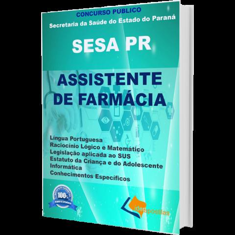 Apostila Assistente de Farmácia da Secretaria Saúde Paraná