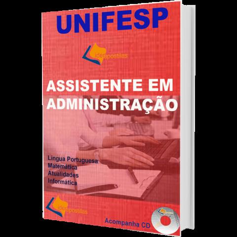 Apostila Assistente em Administração - Unifesp
