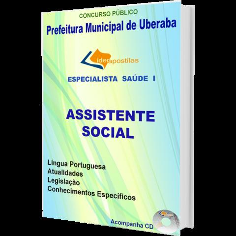 Apostila Assistente Social - Especialista em Saúde I - Prefeitura de Uberaba