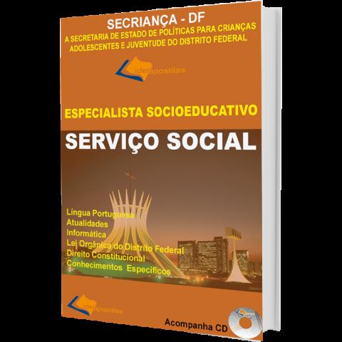Apostila Assistente Social   - Secriança -  Secretaria de Estado de Políticas DF