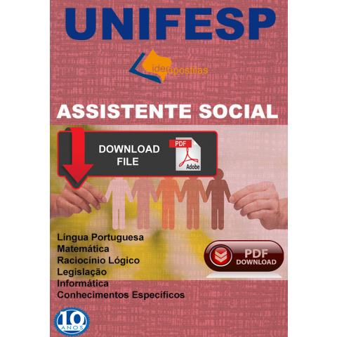 Apostila Assistente Social Unifesp - Download