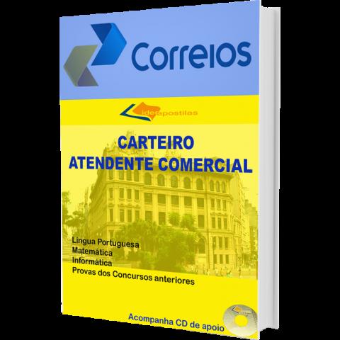 Apostila Atendente Comercial e Carteiro - Correios 2015