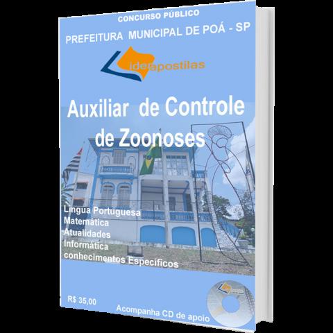 Apostila Auxiliar de Controle de Zoonoses - Prefeitura de Poá