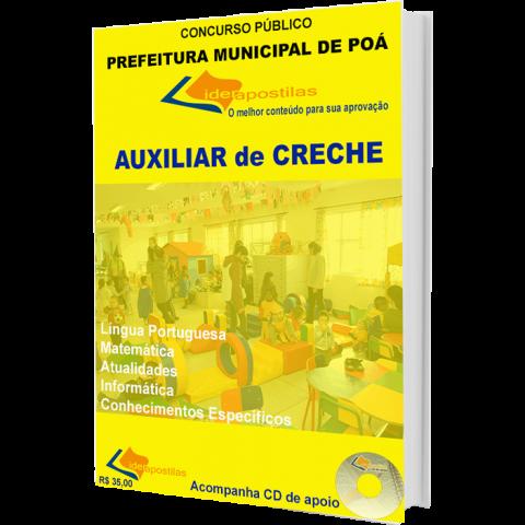 Apostila Auxiliar de Creche  Prefeitura de Poá